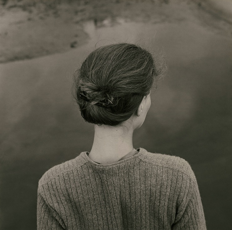 "Emmet Gowin, ""Edith, Chincoteague Island (Virginia)"", 1967.