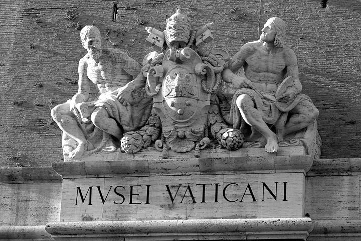 Musei Vaticani. Cortesía: Leonardo.it.