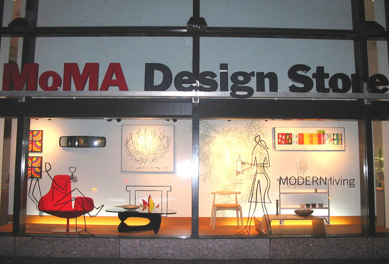 Moma Design and Book Store. © flickr / Behdad Esfahbod.