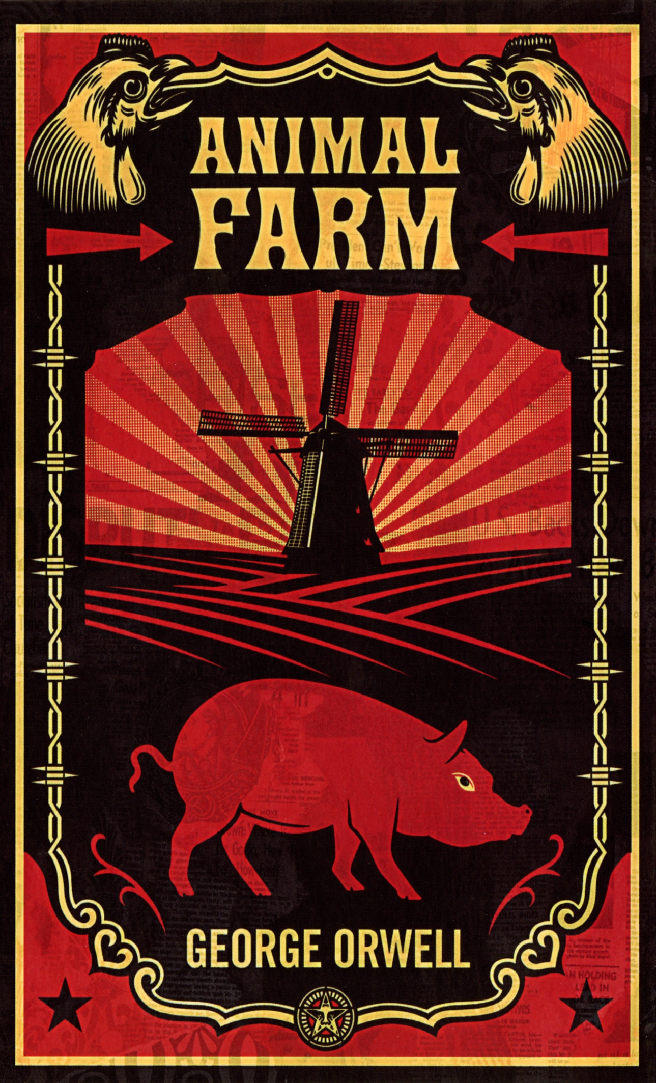 George Orwell, Animal farm.