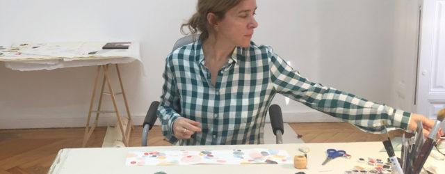"""Mi nuevo artículo para la revista Madriz. Publicado originalmente el 27 de diciembre de 2017. Artista canaria, afincada desde hace varios años en Madrid, Karina Beltrán aboga por la primacía de lo emocional en el acto creativo, cuando la tendencia a la """"intelectualización"""" del arte parece estar cada vez más en boga."""